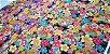 Sea Flowers. Tec. Douradinho Jap. JD0001 (50x55cm) - Imagem 4