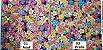 Sea Flowers. Tec. Douradinho Jap. JD0001 (50x55cm) - Imagem 3
