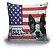 Almofada Decor - Bandeira EUA - Imagem 1