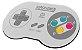 Jogo Americano - Retrô Controle SNES - Imagem 1