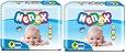 Fraldas Descartáveis-Infantil Nenex DIA/NOITE-P 200 unidades - Imagem 1