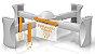 Kaboost Portable Chair Booster - Base Extensora Portátil para Cadeiras - Imagem 2