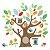 Adesivo de Parede Amigos da Árvore Skip Hop  - Imagem 1