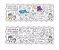 Tapete para colorir Bilíngue Play Doh - Imagem 2