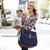 Bolsa de Maternidade SKip Hop Curve Diaper Bag Satchel  Navy/ Marinho - Imagem 2