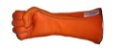 Luva de Montaria Longa Laranja - Imagem 3