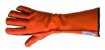 Luva de Montaria Longa Laranja e Preta - Imagem 2