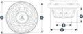 Subwoofer Marinizado 10 Pol. 175W JL Audio MX10IB3-SG-CR - Imagem 7