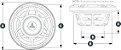 Subwoofer Marinizado 10 Pol. 175W JL Audio MX10IB3-SG-WH - Imagem 8