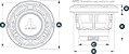 Alto Falante Marinizado 8.8 Pol. JL Audio M880-CCX-CG-WH - Imagem 4