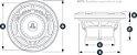 Alto Falante Marinizado 7.7 Pol. JL Audio M770-CCS-SG-WH - Imagem 8