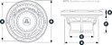 Alto Falante Marinizado 7.7 Pol. JL Audio M770-CCX-CG-WH - Imagem 4