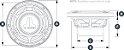 Alto Falante Marinizado 7.7 Pol. JL Audio MX770-CCX-CG-WH - Imagem 4