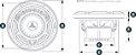 Alto Falante Marinizado 6.5 Pol. JL Audio M650-CCX-CG-WH - Imagem 4
