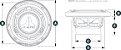 Alto Falante Marinizado 6.5 Pol. JL Audio MX650-CCX-SG-TB - Imagem 6