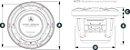 Alto Falante Marinizado 8.8 Pol. JL Audio M6-880X-S-GwGw-i - Imagem 4