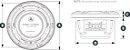 Alto Falante Marinizado 7.7 Pol JL Audio M6-770X-S-GwGw-i - Imagem 4