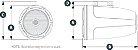 Waketower Marinizada 7.7 Pol. JL Audio MX770-ETXv3-CG-WH - Imagem 3