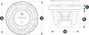 Subwoofer Marinizado 10 Polegadas JL Audio M6-10IB-C-GwGw-4 - Imagem 4