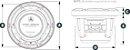 Alto Falante Marinizado 8.8 Pol JL Audio M6-880X-C-GwGw - Imagem 4