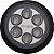 Luz Subaquática Inovaleds RGB Alumínio Naval Super Canhão - Imagem 1