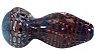 Pipe de Vidro Spoon Fat Rubro Squadafum - Imagem 1