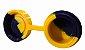 Oil Slick NS 7ml c/ Tampa Junta Amarelo e Azul  - Imagem 2