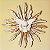 Divino Espirito Santo de parede em madeira pintada - A Unidade - Cód.: 5464 - Imagem 1
