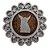 Mandala com Aplique de São Miguel Arcanjo - O Pacote com 3 peças - Cód.: 7339 - Imagem 1