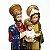 Imagem da Sagrada Família P em resina 12 cm - A Unidade - Cód.: 8667 - Imagem 3