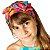 Turbante Infantil Borboletas - Imagem 1