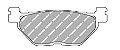 FDB2156EF Pastilha de Freio Ferodo Orgânica - Imagem 2
