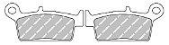 FDB539EF Pastilha de Freio Ferodo Orgânica - Imagem 2