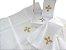 Alfaias Liturgicas de Altar com bordado de cruz - 4 peças - Imagem 1
