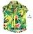 Camisa Enrico - Estampa Flores - Imagem 1