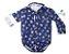 Camisa Bruno - Azul Marinho Estampa âncora | Azul e branca - Imagem 5