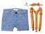 Conjunto Alan - Bermuda Poá e Kit Suspensório  (três peças) - Imagem 1