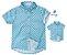 Kit camisa Oliver - Tal pai, tal filho (duas peças) | Fazendinha | Manga longa e curta - Imagem 1