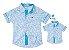 Kit camisa Charles - Tal pai, tal filho (duas peças) - Imagem 1