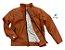 Jaqueta de couro vegetal Patrick - Caramelo | Com Forro - Imagem 4