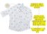 Kit camisa Meu Príncipe - Tal pai, tal filho (duas peças) | Personalize com as inicias dos nomes - Imagem 2