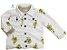 Jaqueta Lis - Off-White estampada | Moletinho - Imagem 1