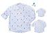 Kit camisa Meu Príncipe - Família (três peças) | Manga Longa | Personalize - Imagem 1