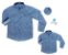 Kit Camisa Cauê - Tal mãe, tal filho (a) (duas peças) - Imagem 1