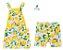 Conjunto Limão - Vestido e Bermuda - Imagem 1
