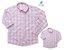 Kit camisa Cadú - Tal pai, tal filho (duas peças) | Xadrez Rosa Claro - Imagem 2