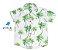 Conjunto Taylor - Camisa estampada e Bermuda branca (quatro peças) - Imagem 2