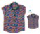 Kit camisa Alberto - Tal pai, tal filho (duas peças) | Fundo do mar - Imagem 1