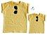 Kit camiseta Rayban - Tal mãe, tal filho (a) | Amarela - Imagem 1