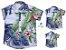 Kit camisa Vicente - Família (três peças) |Folhas - Imagem 1